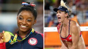 Simone Biles / Kerry Walsh Jennings 2016 Olympics