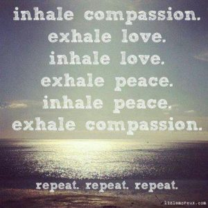 Compassion and love - you are not special